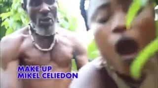 Black Villagers Orgy In Bush