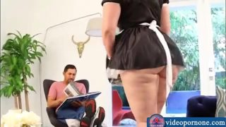 Big Booty Maid step mom fucked service (PART.2 On Videopornone.com)