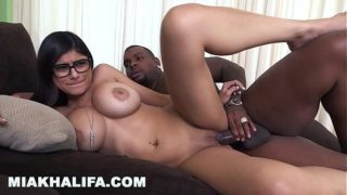 MIA KHALIFA – I Was A Little Bit Scared Of My First Black Cock, But I Did It