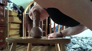 riding my Shane diesel dildo and licking it clean