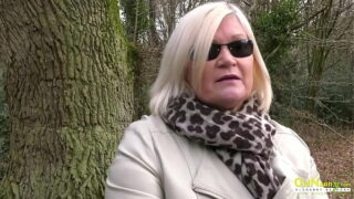 OLDNANNY British Mature and Blonde Lesbo Action